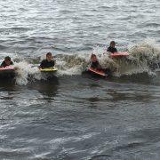 A good day in the waves at Runswick Bay...